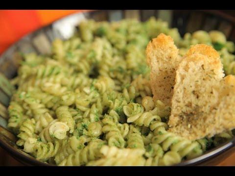 Best Vegan Pesto Pasta By Rithika
