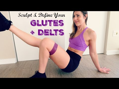 Build + Define your Glutes and Shoulders | Full Workout | Follow Along