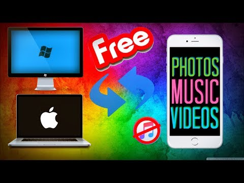 How To Import Photos/Music/Videos From PC To iDevice Wirelesly For Free
