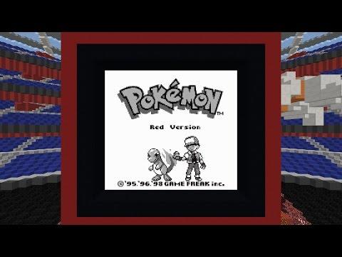 Pokemon Red in Vanilla Minecraft [1.11]