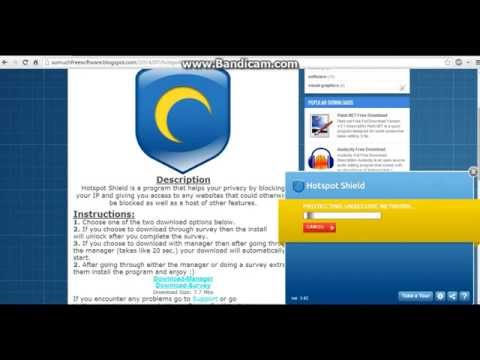 Hotspot Shield Free Download (How to)