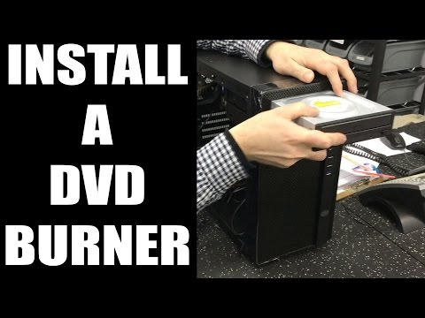 How to Install a DVD Burner