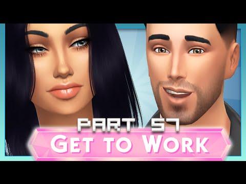 The Sims 4 | Get To Work | Part 57 — Carson HOT DAMN Wheeler!