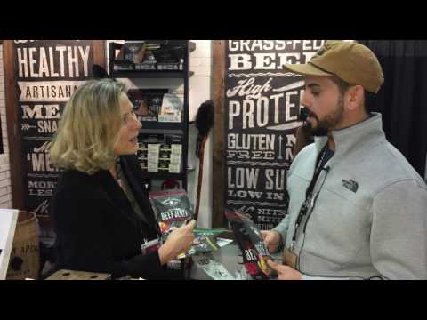 Country Archer all-natural beef jerky at the Winter Fancy Food Show #WFFS2017