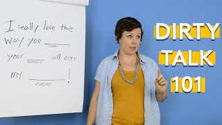 Lessons In How To Dirty Talk With Your Partner With Tina Horn