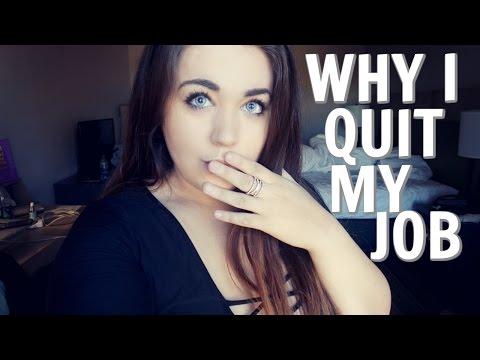 I quit my job again...