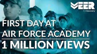 Indian Air Force Academy E1P3 | First Day of Cadets at Air Force Academy Dundigal |Veer by Discovery