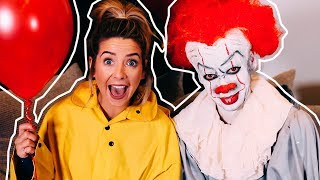 Turning My Brother Into Pennywise | Zoella