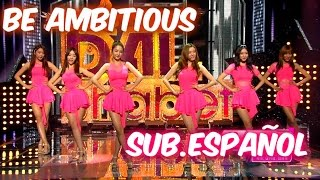 [Sub. Español] Dal shabet - Be ambitious - (달샤벳) (내 다리를 봐)