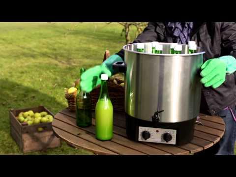How to make apple juice with Vigo Presses