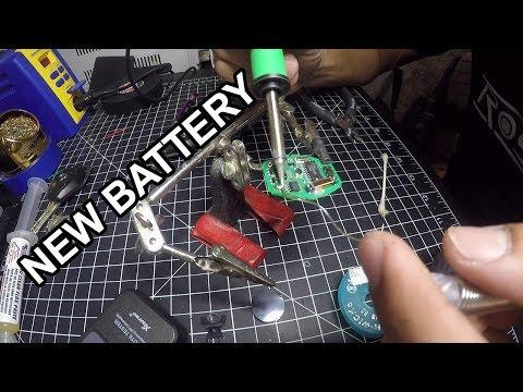 BMW diamond style key rechargeable battery replacement E60 E46 E39