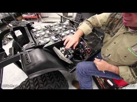 EZGO Heavy Duty Battery Cable Upgrade | How to Install Golf Cart Cables | 4 Gauge