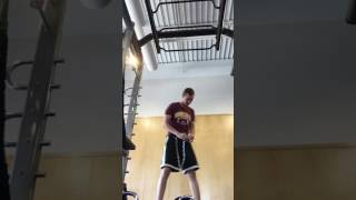 Weighted Chin Up 170 lbs bodyweight + 55 lbs - 7/4/17