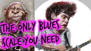 """Must know Blues """"Sour Note Bends"""" Minor pentatonic scale"""