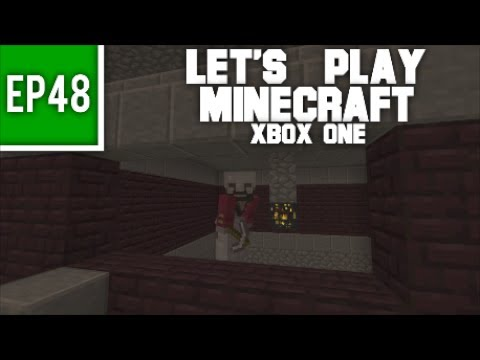 Let's Play Minecraft Xbox One - EP48: Building a Blaze Farm!