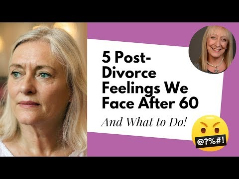 Life After Divorce for Women over 60: 5 Emotions to Expect