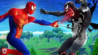 Download SPIDERMAN VS VENOM!?! - A Fortnite Short Film Video