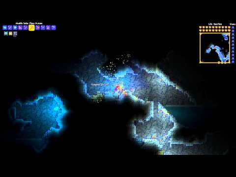 Where to find Slush Blocks - Terraria