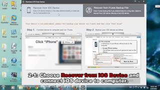 How To Recover Iphone Data After Factory Reset