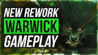 WARWICK REWORK IS not BROKEN?! - Warwick Jungle Gameplay | League of Legends
