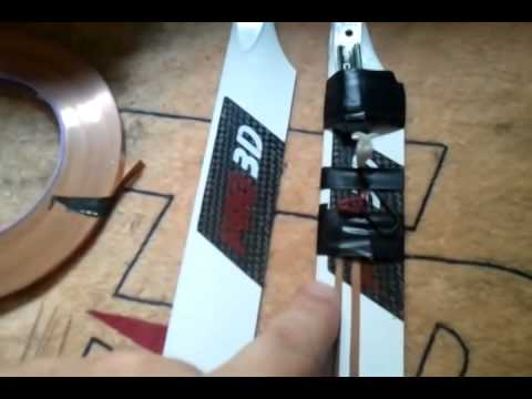 How to Make Homemade RC Helicopter Blades