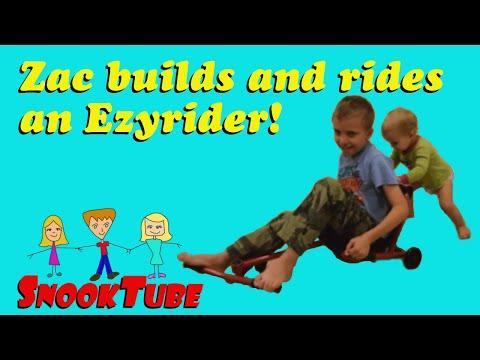 DIY Ezyrider Scooter Build