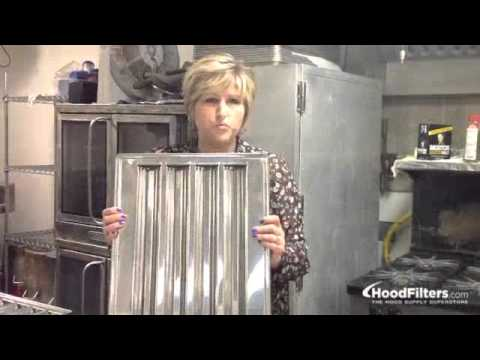 Exhaust Hood Filters - How to Choose the Right Type of Hood Filter