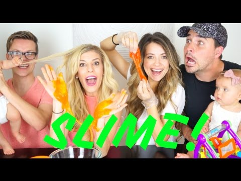 BABY SAFE SLIME! (EXPERIMENT) w/ Rebecca Zamolo and Matt Slays