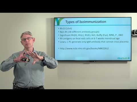 Isoimmunization in pregnancy, Minnesota Perinatal Physicians