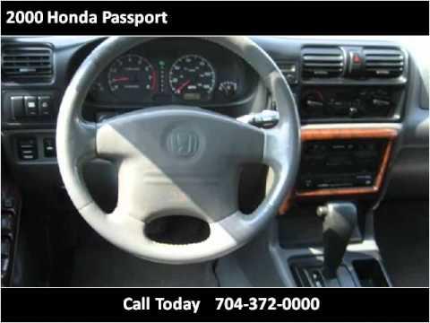 2000 Honda Passport Used Cars Charlotte NC