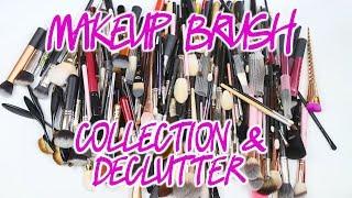 Makeup Brush Collection & Declutter 2018