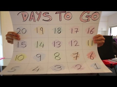 The Official Countdown Begins