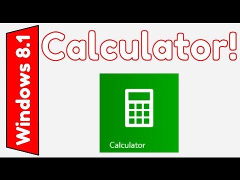 Windows 8.1: Calculator App Overview