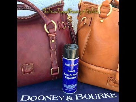 Dooney & Bourke - How I Protect My Leather Bags