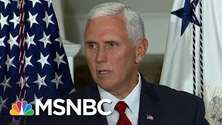 Mike Pence Extremism, Unpopularity Overlooked In President Trump