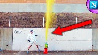 HUGE Foam EXPLOSION!!! Dangerously Large
