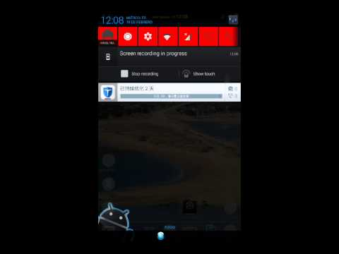 Screen Recorder desde la Rom Carbon Rom N7000