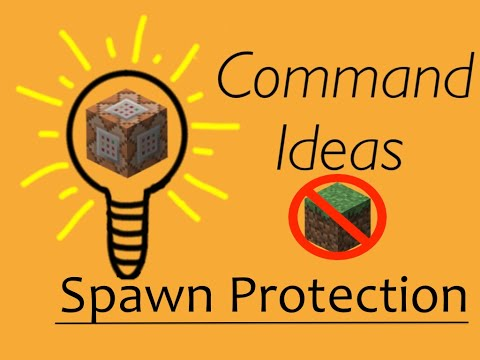 Protecting a Spawn using command blocks