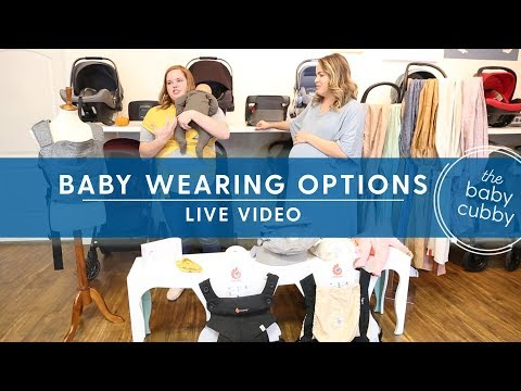 Baby Wearing Options- Live Video