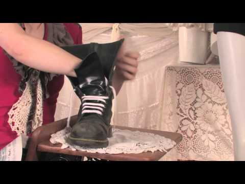 How to Dry My Leather Boots : Fashion Below the Knees