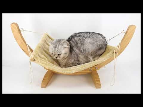 cat hammock with stand - cat hammock