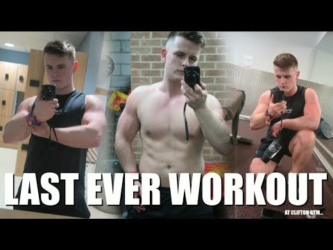THE FINAL WORKOUT...