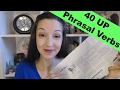 40 UP Phrasal Verbs in One Newspaper Article: Do you know them all?