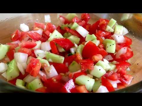 Cucumber Salad | 3 Ways (Vegan + No Oil or Sugar!) 5-10 Minutes