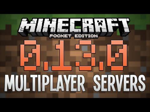 0.13.0 MULTIPLAYER SERVERS! - Minecraft PE (Pocket Edition)