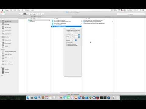 3min: Mac Essentials: Bigger Font in Finder OS X 10.11 El Capitan