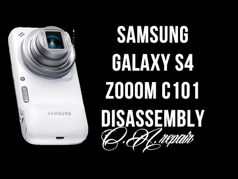Samsung galaxy S4 zoom disassembly - how to open it