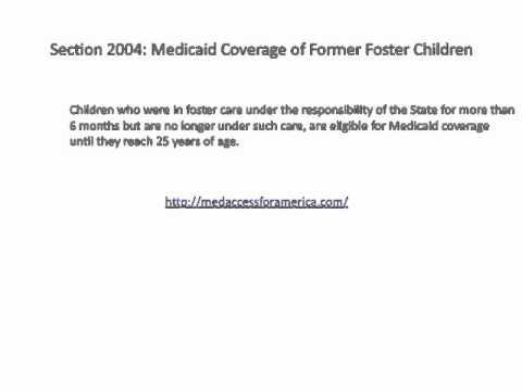 Pediatric Care Reform Provisions