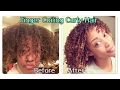 Curly Hair Routine, (Easy Finger Coiling Method)