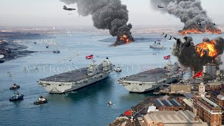 War Begins today(Oct 17) UK Send Massive Naval Flotilla to attack China key Military facility in SCS